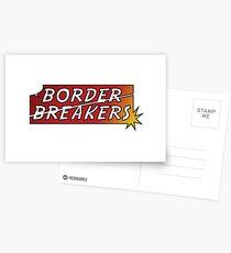 Border Breakers logo - Color Postcards