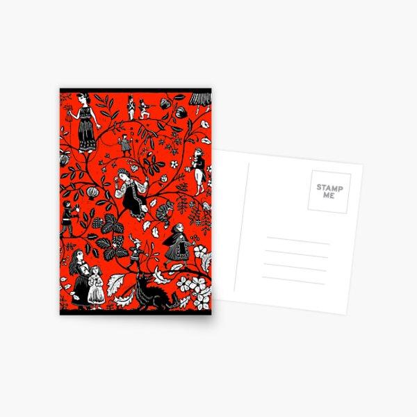 Scarlet Postcard