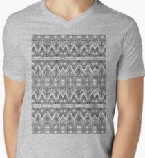 Rope Patterns 5 Men's V-Neck T-Shirt