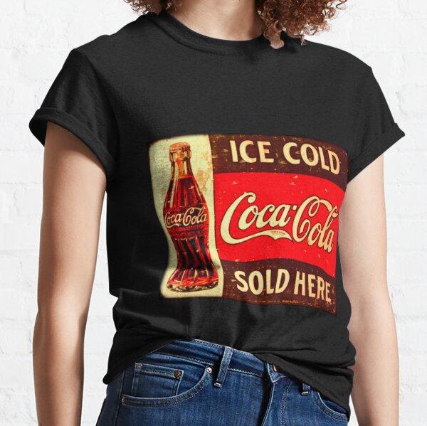 Cocacola Vintage Camiseta clásica