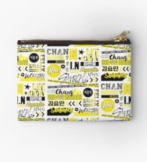 Stray Kids Collage Zipper Pouch