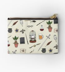 Owl and wand Studio Pouch
