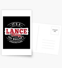 It's a LANCE Thing You Wouldn't Understand Postcards