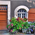 A facade in Chéniers by Adri  Padmos