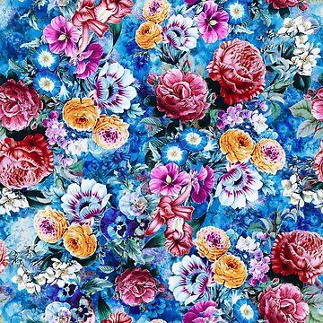 Floral Ocean by rizapeker
