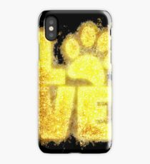 Paw print paws glowing Art iPhone Case
