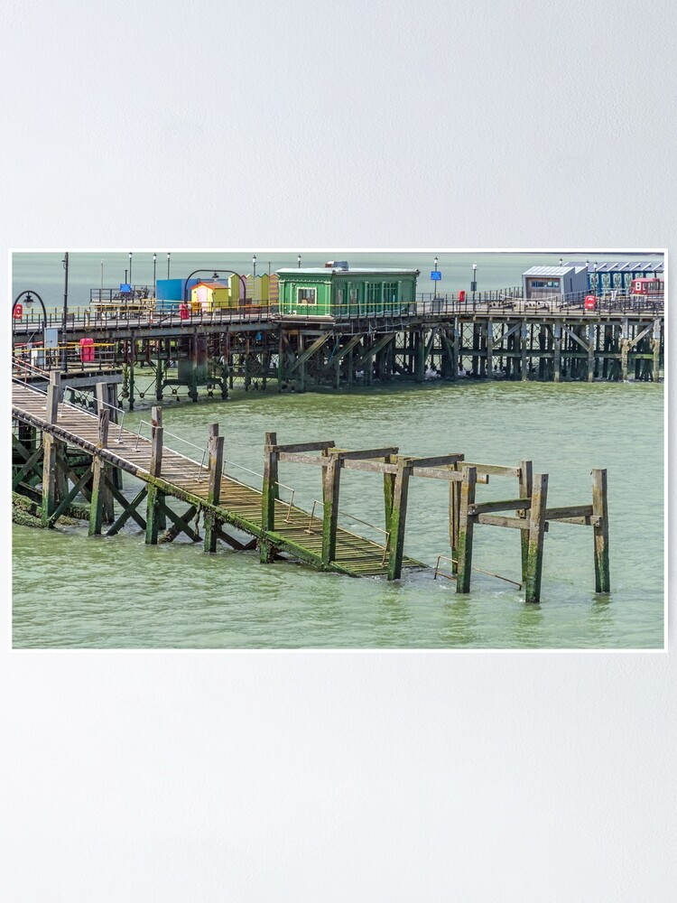 Alternate view of Southend-on-Sea Pier Poster