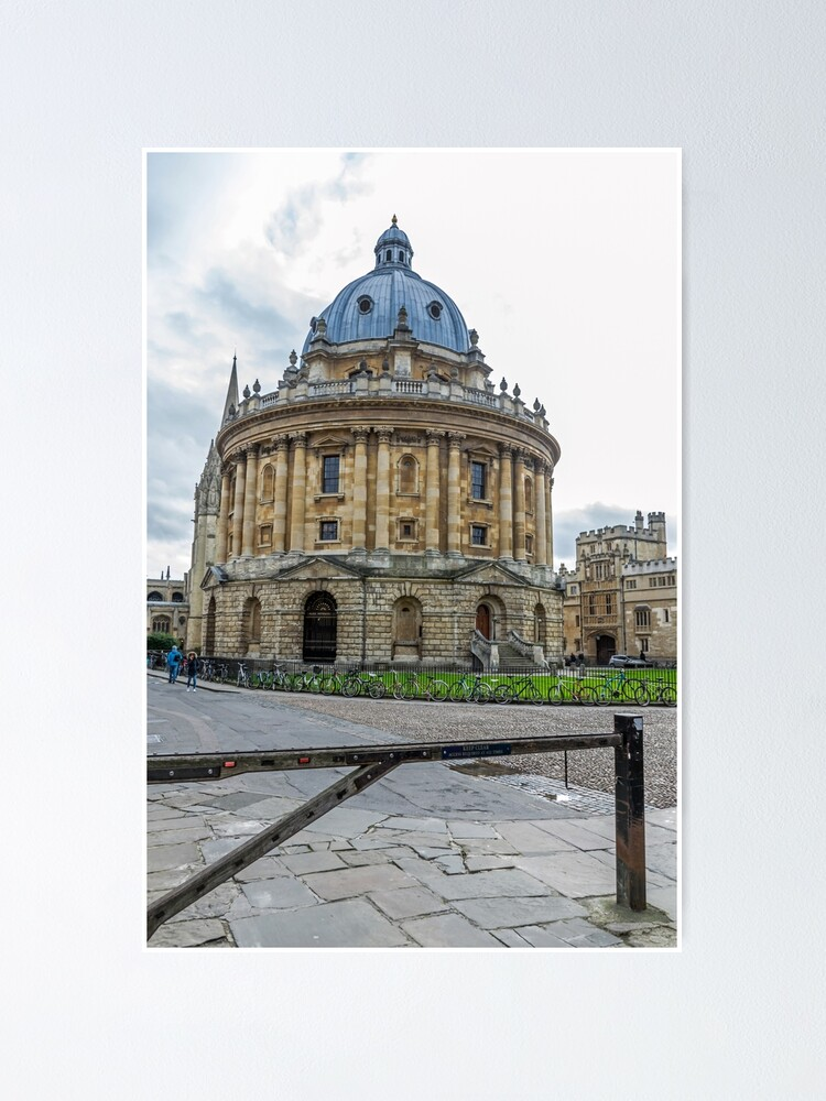 Alternate view of Radcliffe Camera, Oxford Poster