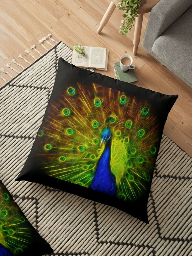 Peacock modern art by DreamInDigitalD