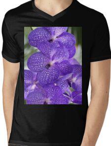 orchid Mens V-Neck T-Shirt