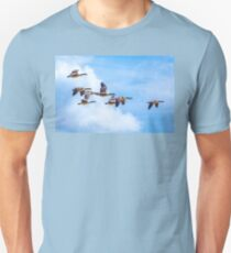 Canada Geese Fly-by Unisex T-Shirt