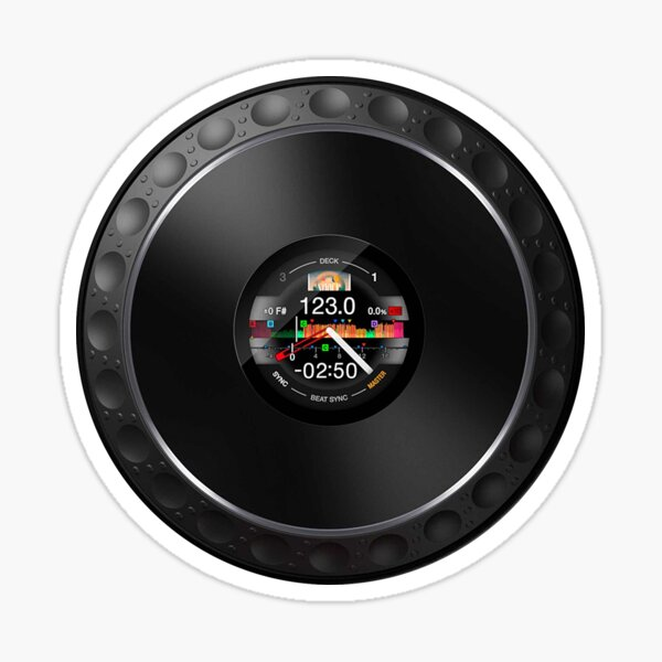 DDJ-1000 Jog wheel / phone case & sticker! Pegatina