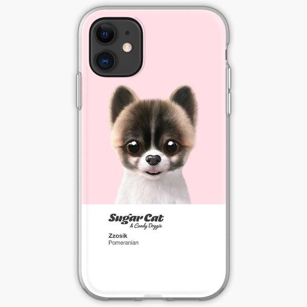 Zzosik the Pomeranian iPhone Soft Case