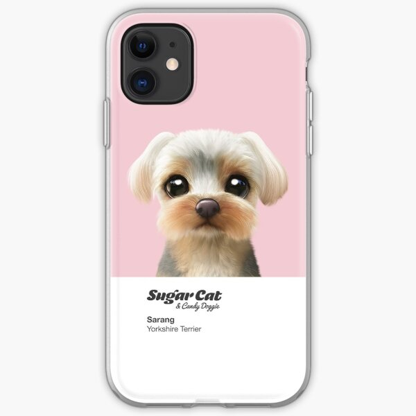 Sarang the Yorkshire Terrier iPhone Soft Case