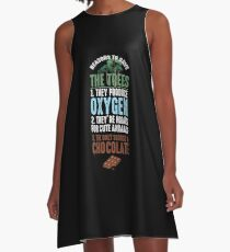 Reasons To Save The Trees A-Line Dress