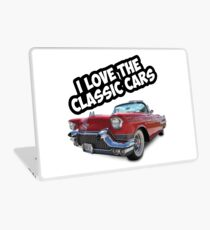 Classic car Cadillac t shirt  Laptop Skin