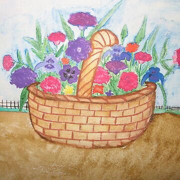 FLOWER BASKET by HUNTERSANGEL