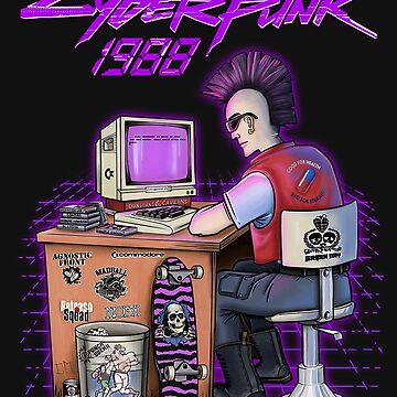 Real Cyber - Punk in 1988 by dsgndm