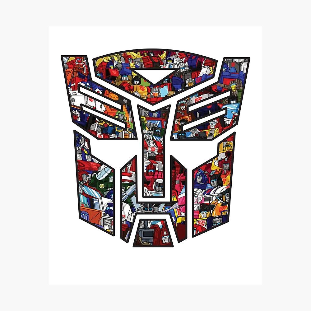 Transformers GENERATION 1 G1 Decepticon GUFO è REPRO Etichette//Adesivi