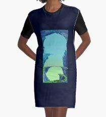 Blue Cavern - ohms' Custom Worms Armageddon Level Graphic T-Shirt Dress