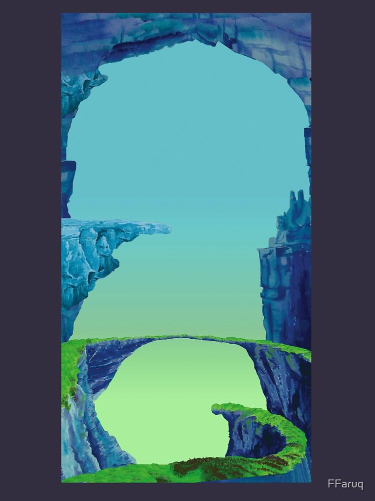 Blue Cavern - ohms' Custom Worms Armageddon Level by FFaruq