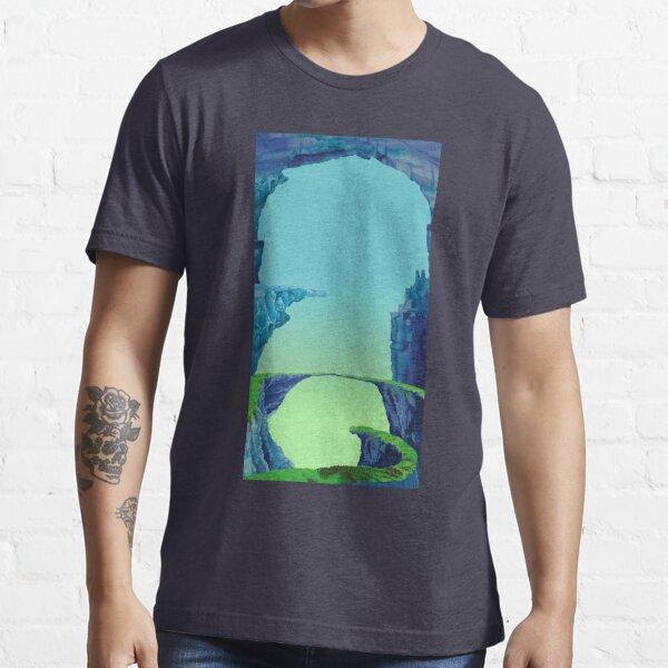 Blue Cavern - ohms' Custom Worms Armageddon Level Essential T-Shirt