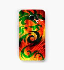 DRAGON IN FLAME Samsung Galaxy Case/Skin