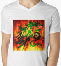 DRAGON IN FLAME T-Shirt