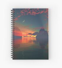 """The One Light"" Spiral Notebook"