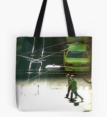 Cross Walk Tote Bag