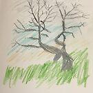 Diva tree by Anita Morris