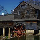 Old Grist Mill by lynell