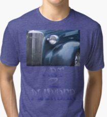 Classics 3-Blue Tri-blend T-Shirt