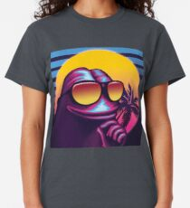 Rare Outrun Pepe the Frog Classic T-Shirt