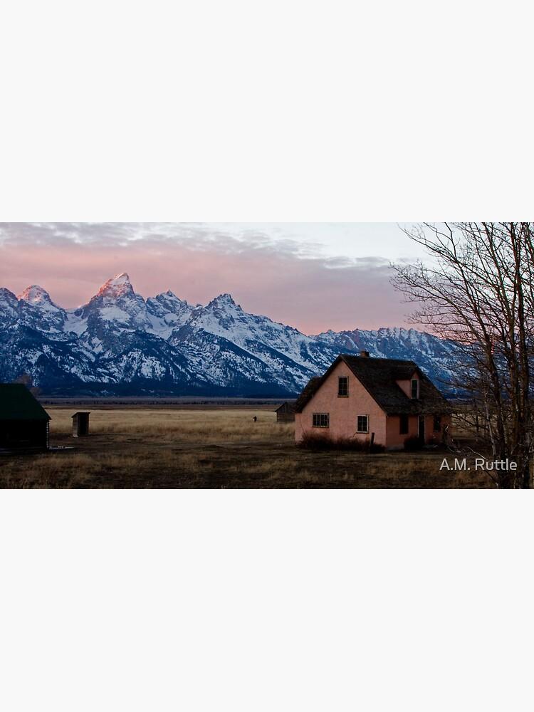 Peach House, Mormon Row, Tetons by annruttle