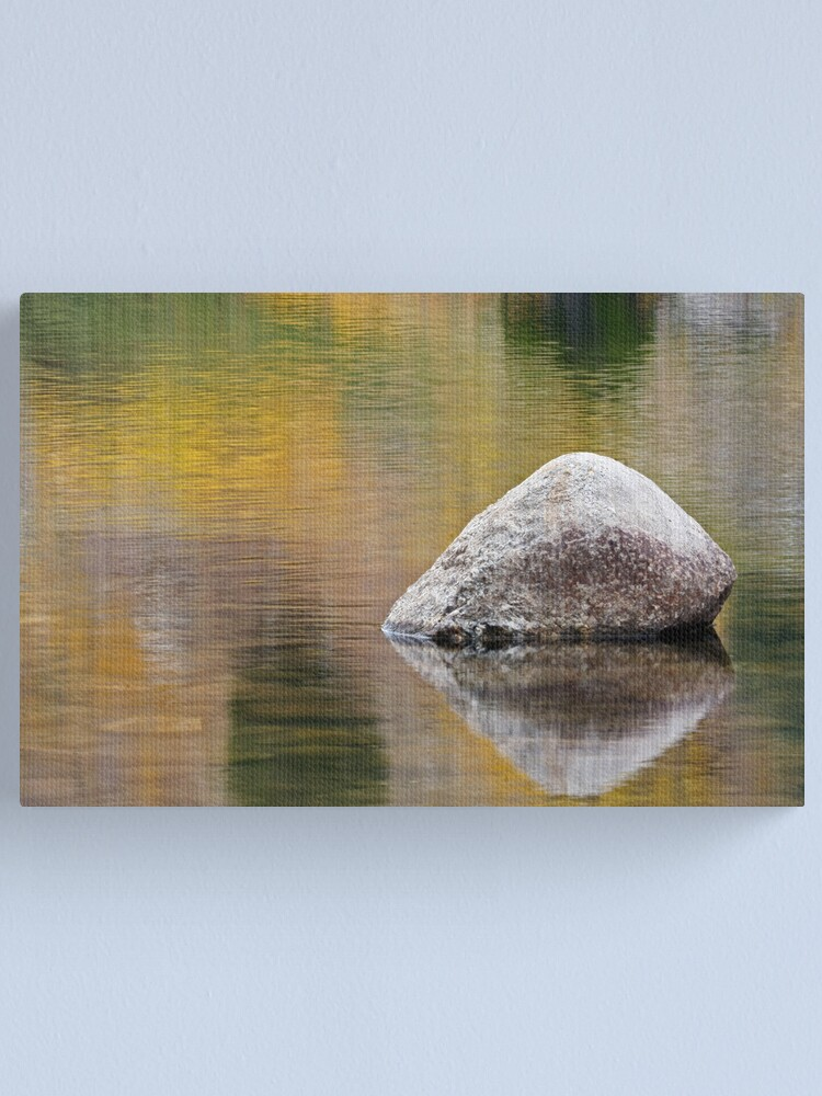 Alternate view of Sinks Canyon, Fall Reflection Canvas Print
