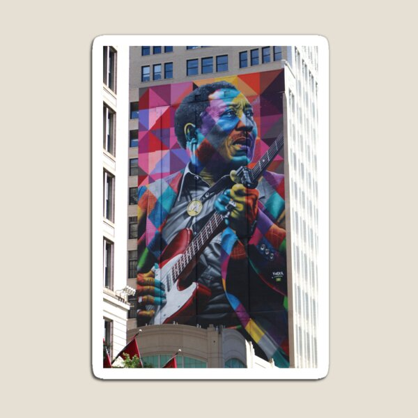 Muddy Waters in Chitown Magnet