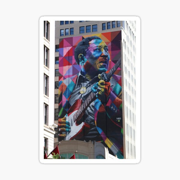 Muddy Waters in Chitown Sticker
