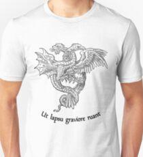 Ut lapsu graviore ruant Unisex T-Shirt