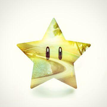 Super Star - Kart Art by andywynn