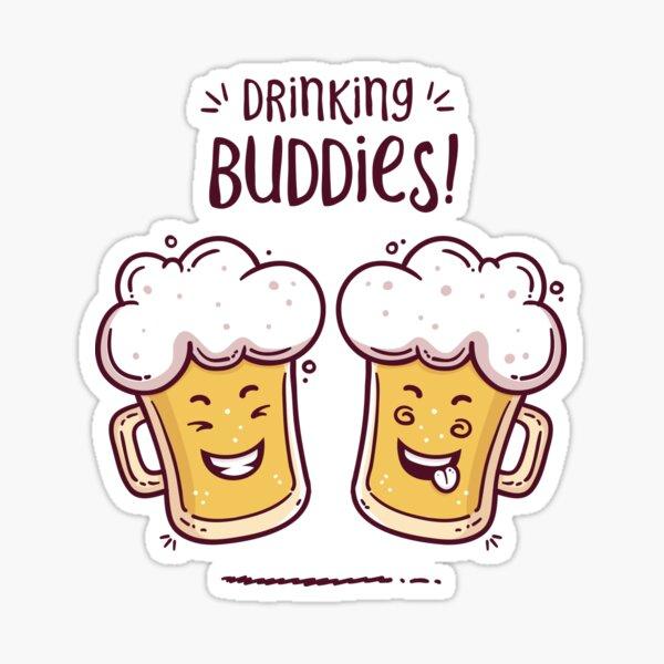 Drinking Buddies - Beer Lovers Sticker