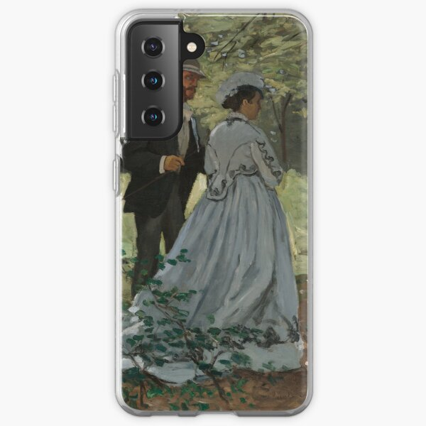 Monet - Bazille and Camille - Classic Art Samsung Galaxy Soft Case