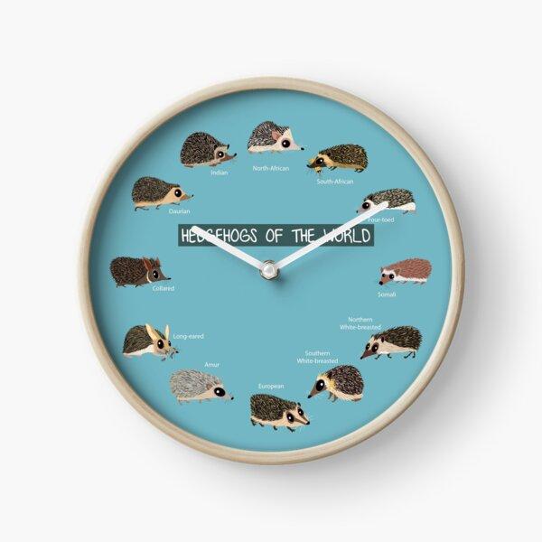Hedgehogs of the World Clock