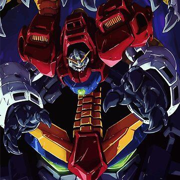 Dark Gundam G Gundam by lman32