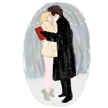 Bridget Jones Christmas Kiss by blythely