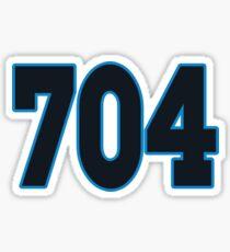 Carolina LYFE the 704!!! Sticker