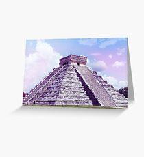 El Castillo Greeting Card