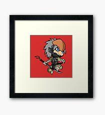 Chibi Raiden Framed Print