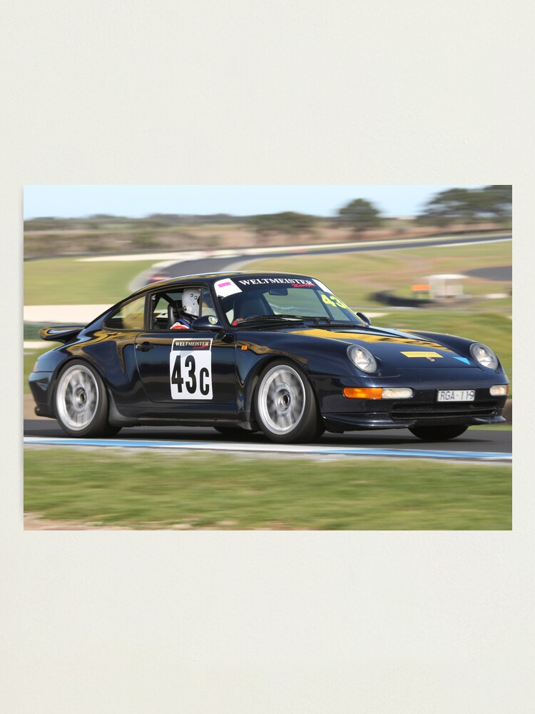 Alternate view of Blue 993 Photographic Print