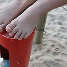 Sandy Feet by Caroline Angell